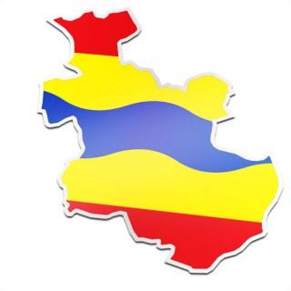 Provincie sticker Overijssel