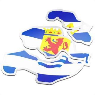 Provincie sticker Zeeland