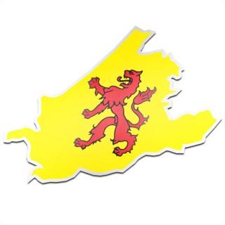 Provincie sticker Zuid-Holland