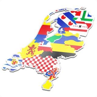 Provincie sticker Nederland compleet