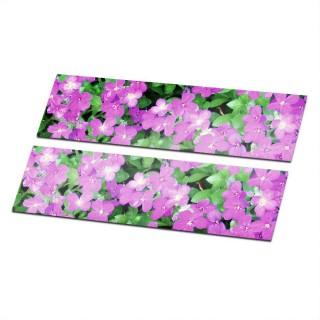 Stroken Bloemen Type 1 Fiets stickers