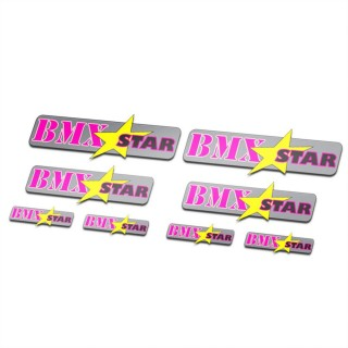 BMX Stickers Fiets Set Star