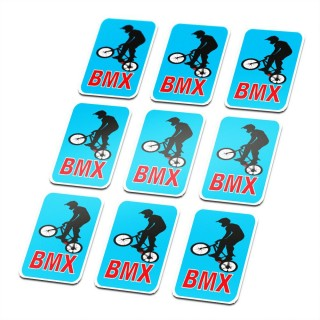 BMX Uni Stickers fiets Set