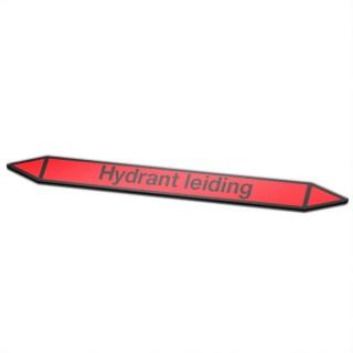 Hydrant leidingen Pictogramsticker Leidingmarkering