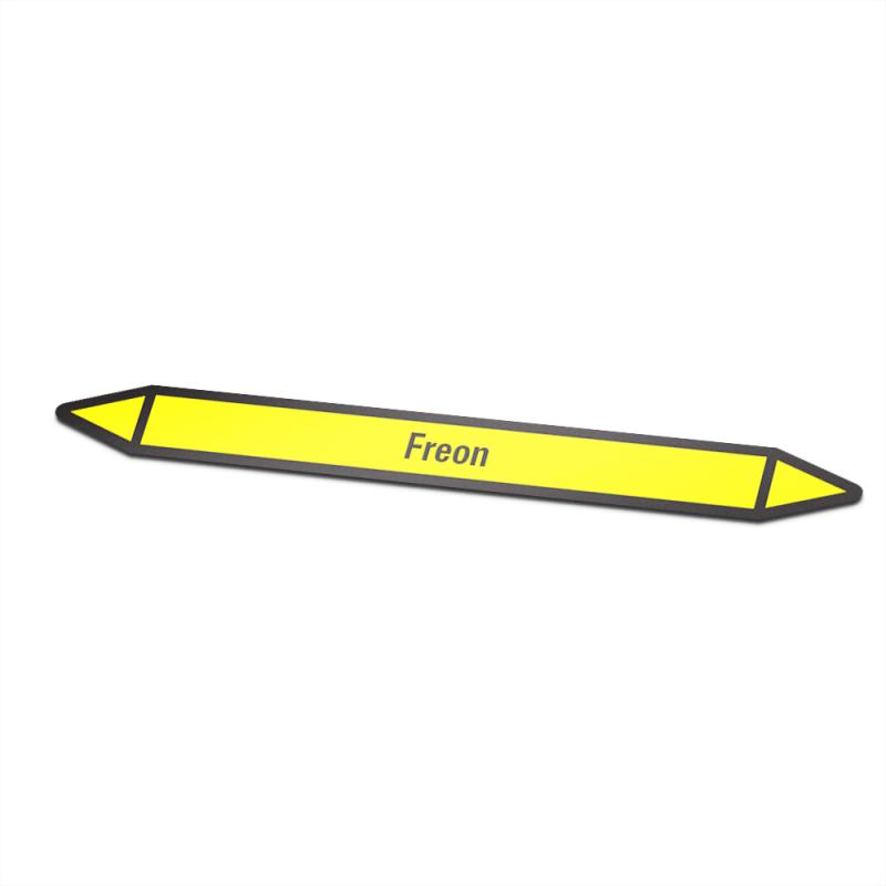 freon Pictogramsticker Leidingmarkering