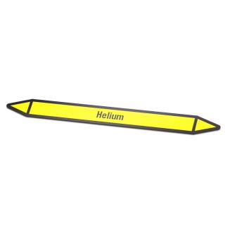 Helium Pictogramsticker Leidingmarkering