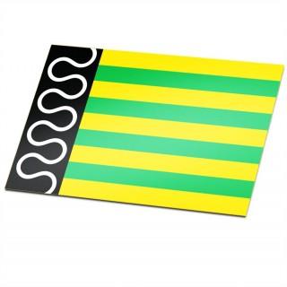 Gemeente vlag De Wolden