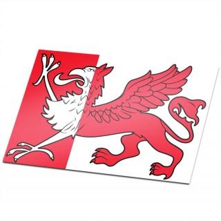 Gemeente vlag Ooststellingwerf