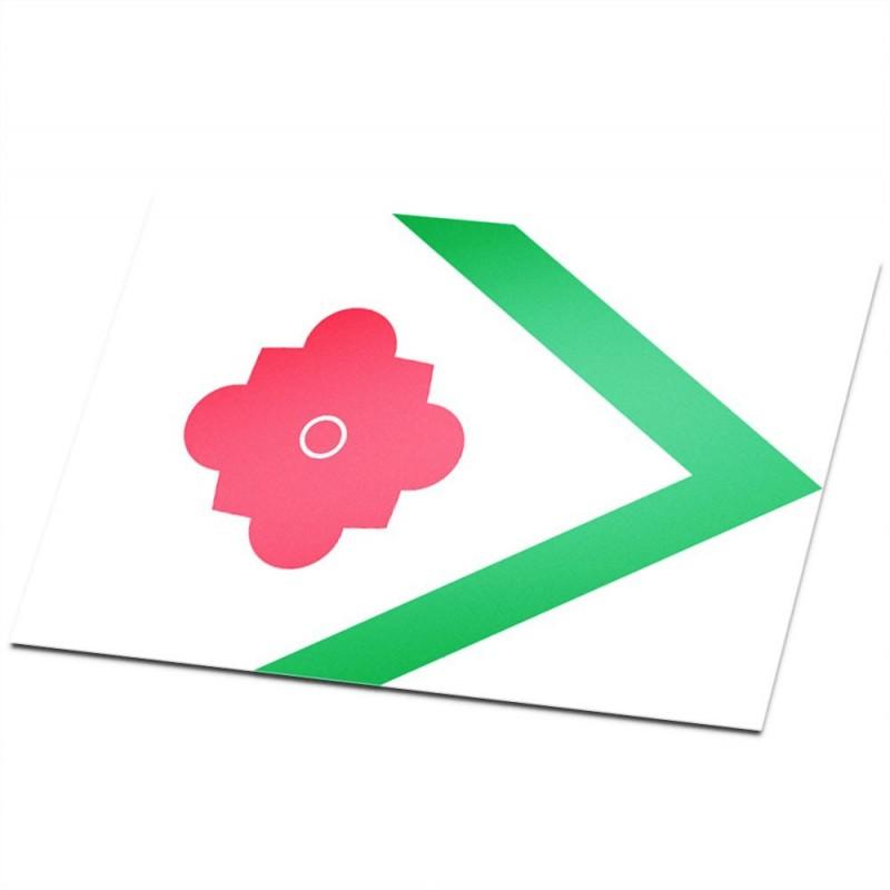 Gemeente vlag Landerd