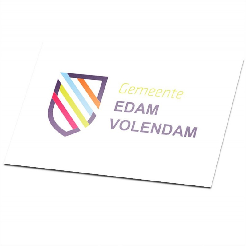 Gemeente vlag Edam-Volendam
