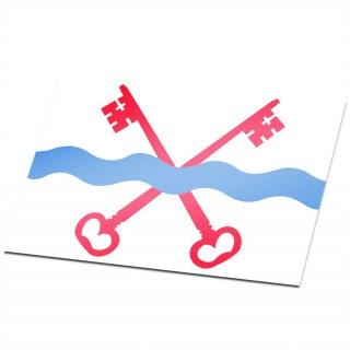 Gemeente vlag Leiderdorp