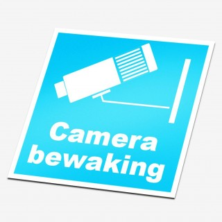 Camera Bewakingsstickers 2
