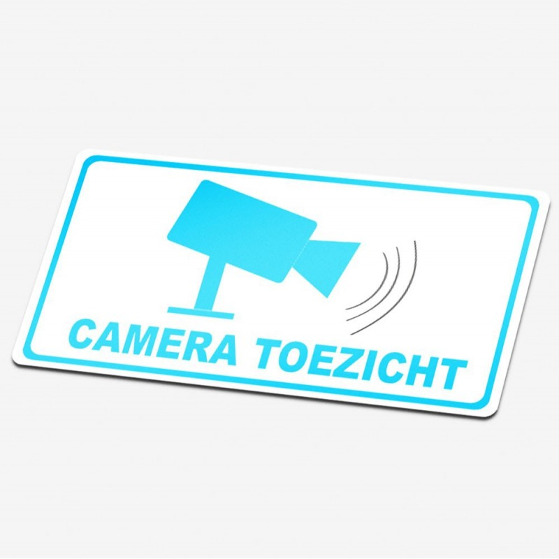 Camera toezicht stickers