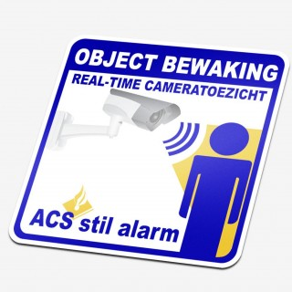 Object bewakingsticker