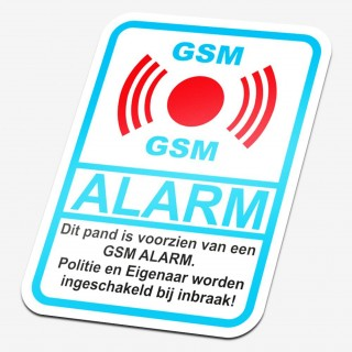 GSM alarm sticker
