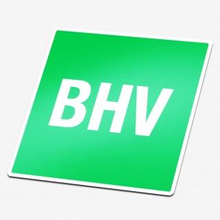 BHV Sticker