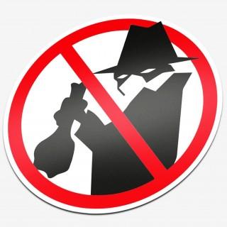 Verboden voor inbrekers
