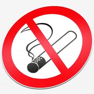 Verboden te roken Normal type 2 stickers pictogrammen