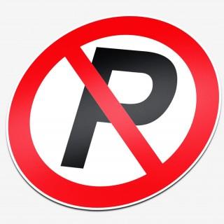 Verboden te parkeren P