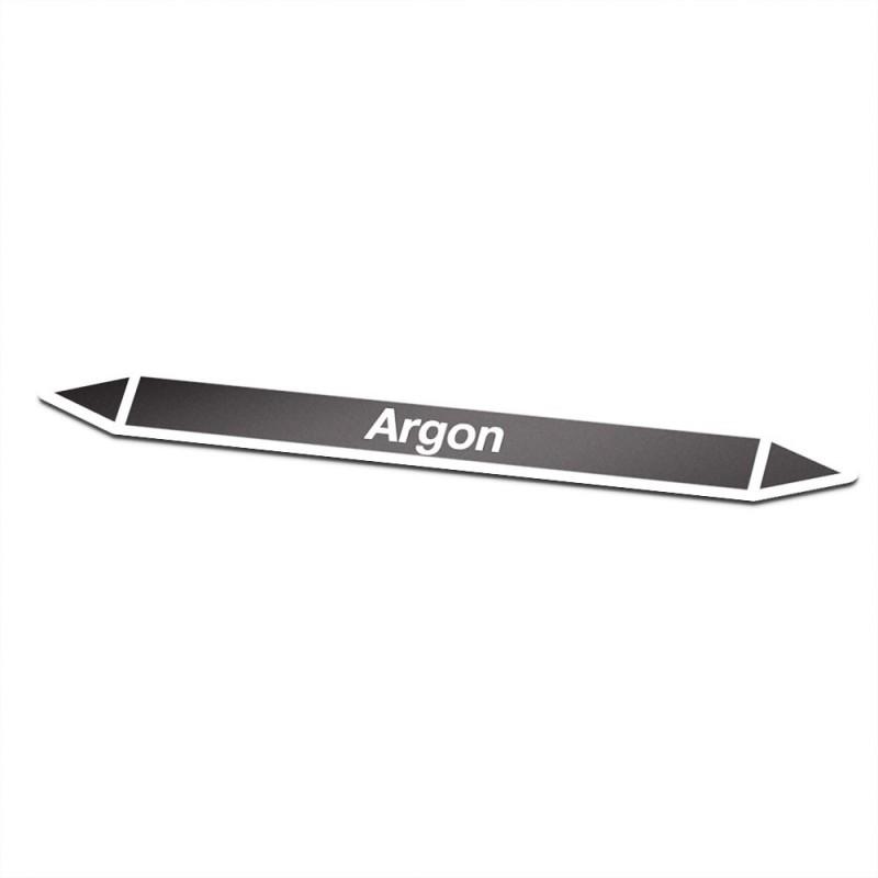 Argon Pictogramsticker Leidingmarkering