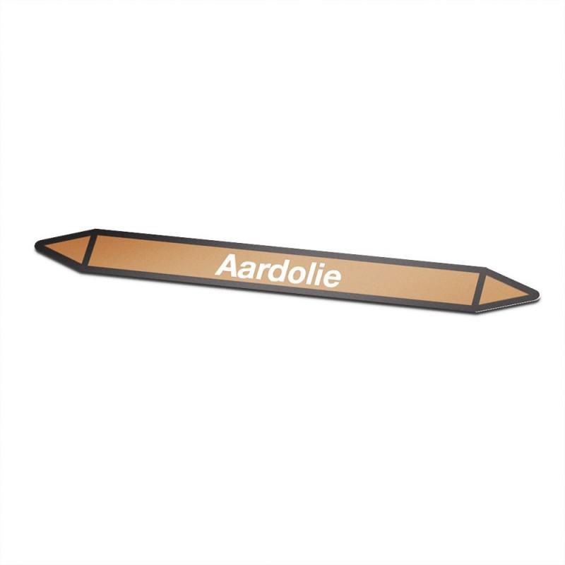 Aardolie Pictogramsticker Leidingmarkering