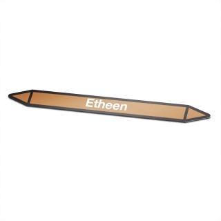 Etheen Pictogramsticker Leidingmarkering