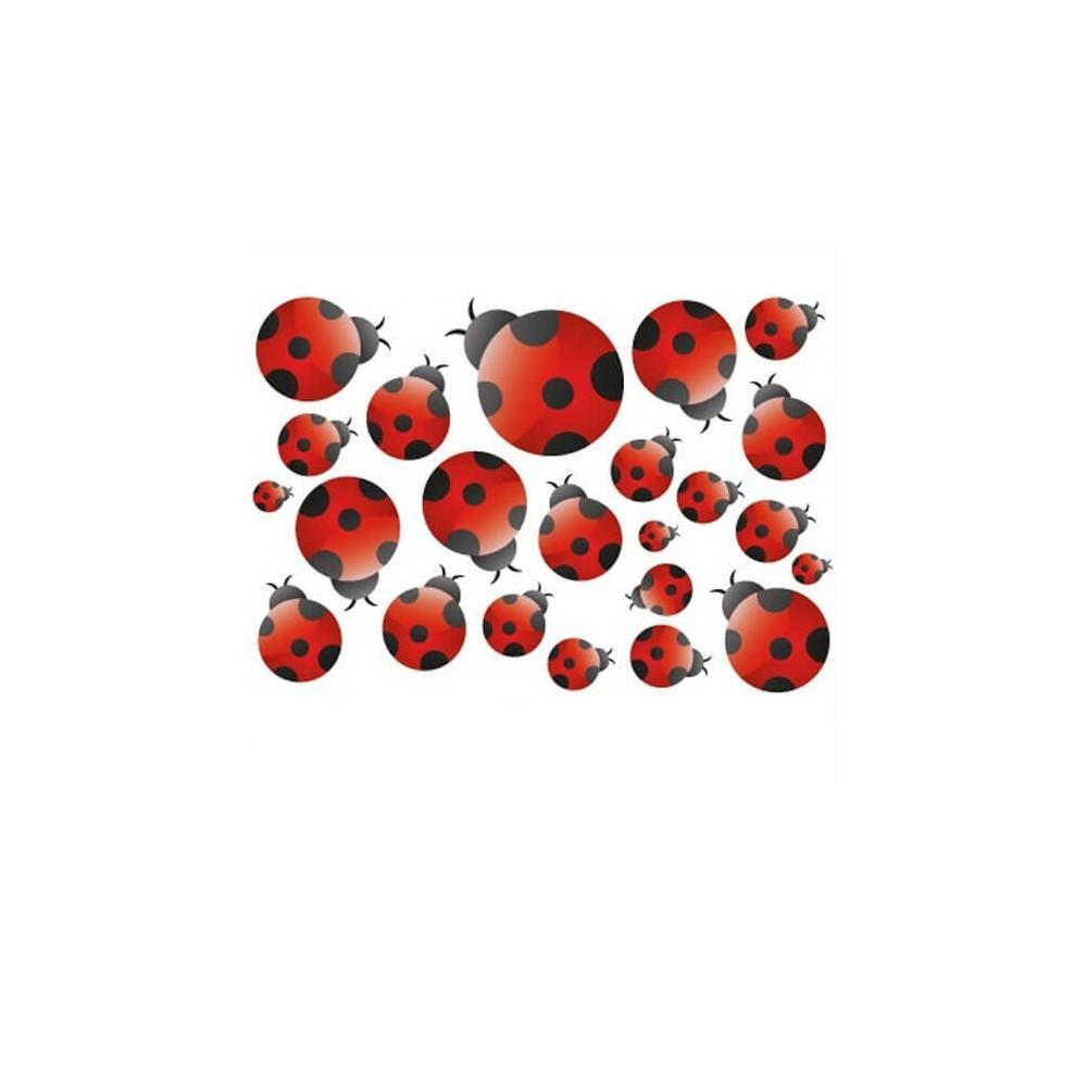 Fiets stickers Lieveheersbeestjes
