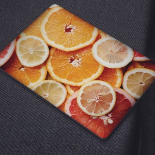 Citrus Close Up Laptop Sticker