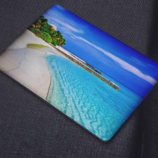 Exotisch Strand Laptop Sticker