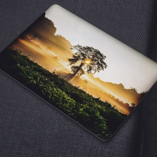 Heldere Wolken Laptop Sticker