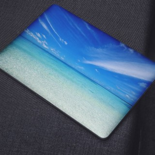 Water Kalme Wolken Laptop Sticker
