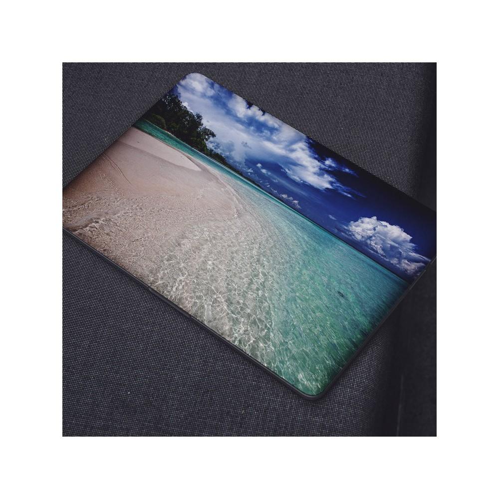 Zonnig Strand Helder Water Laptop Sticker