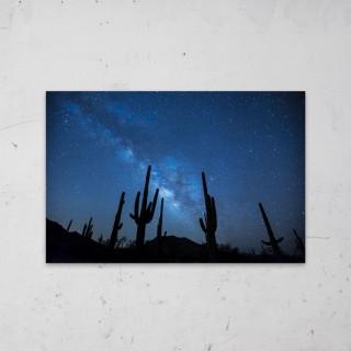 Desert Night Sky op Aluminium