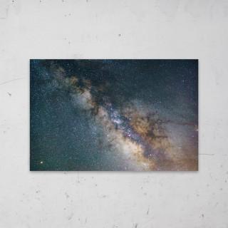 Field of Stars op Aluminium