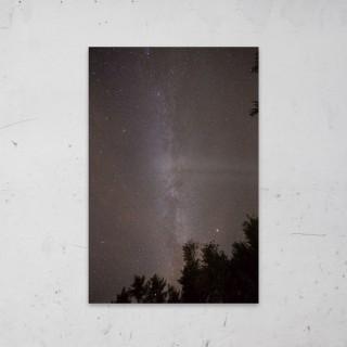 Dark Galaxy op Aluminium