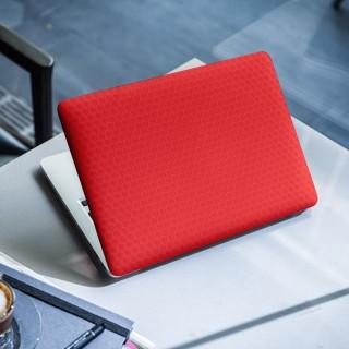 Honeycomb Rood Laptop Sticker