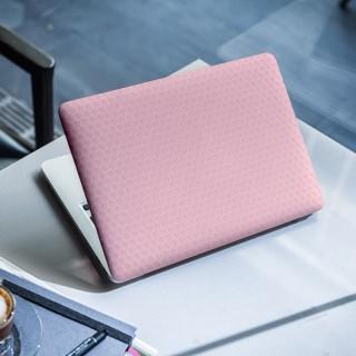 Honeycomb Roze Laptop Sticker