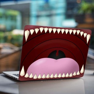 Monster Mond Laptop Sticker