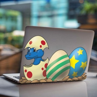 Monster Nest Laptop Sticker