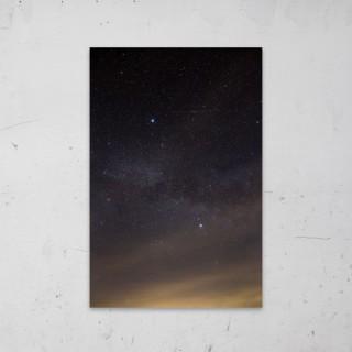 Cloud of Stars op Aluminium