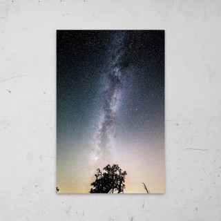 Milky Way op Aluminium