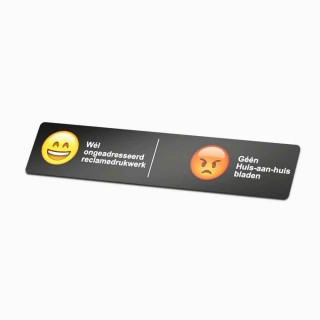 ja en nee sticker andersom Emoji