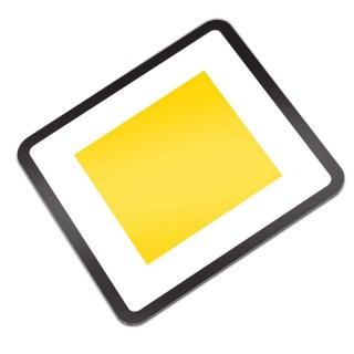 B01 Voorrangsweg verkeersbord sticker
