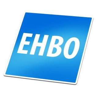 EHBO blauw Sticker
