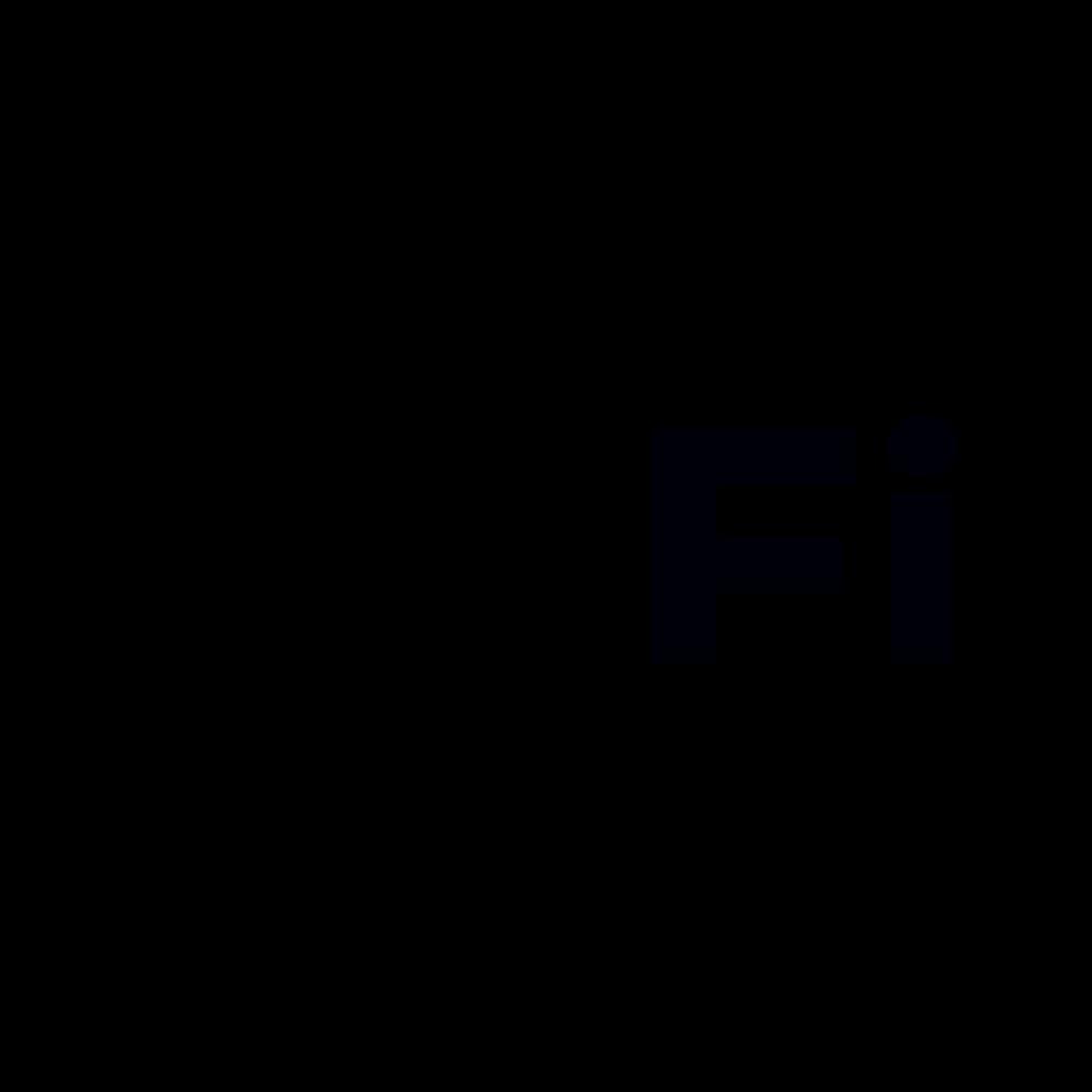 Wifi sticker Logo uitgesneden