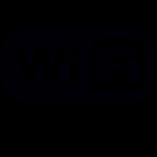 Wifi Hotspot sticker Logo uitgesneden