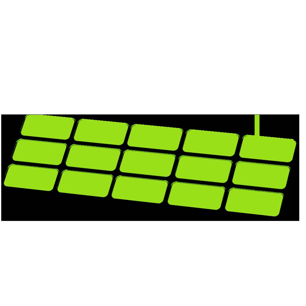 Kabel framebescherming fluor kleur