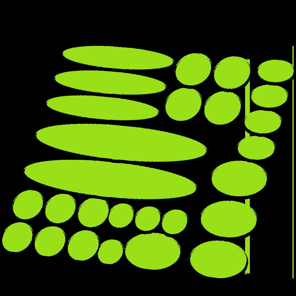 Set 27 Framebescherming fluor kleur