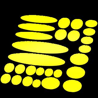 Set 27 Framebescherming glans kleur