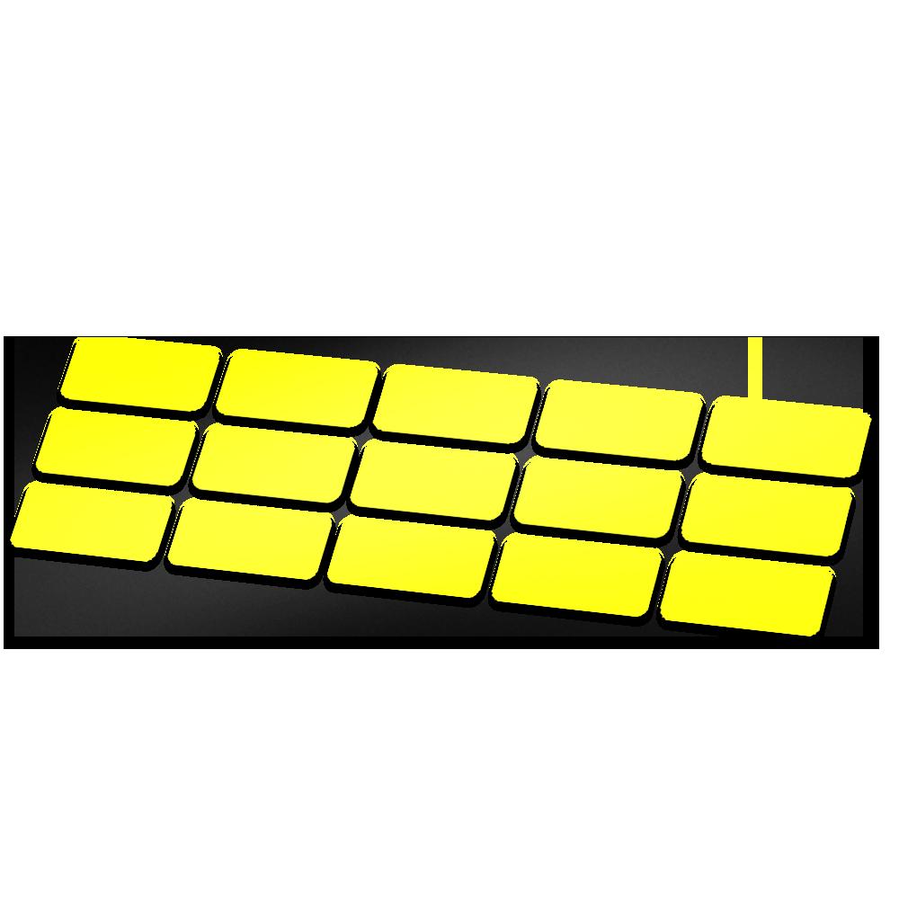 Kabel framebescherming glans kleur